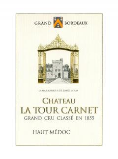 Château La Tour Carnet 2015 Original wooden case of 12 bottles (12x75cl)