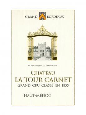 Château La Tour Carnet 2016 Original wooden case of 6 bottles (6x75cl)