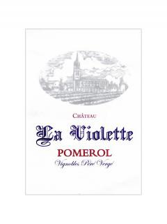 Château La Violette 2018 Original wooden case of one magnum (1x150cl)
