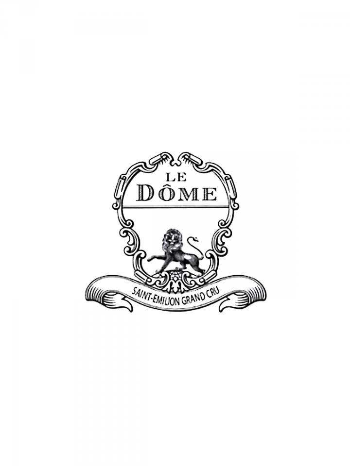Le Dôme 2013 Original wooden case of 6 bottles (6x75cl)