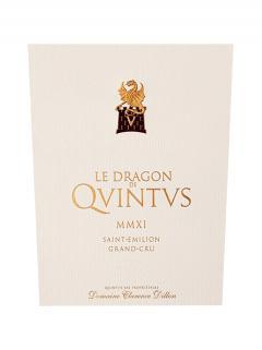 Le Dragon de Quintus 2017 Original wooden case of 12 bottles (12x75cl)