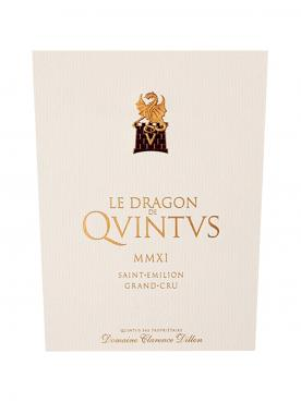Le Dragon de Quintus 2015 Original wooden case of 12 bottles (12x75cl)