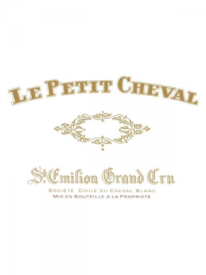 Le Petit Cheval 2011 Original wooden case of 6 bottles (6x75cl)