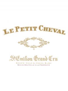 Le Petit Cheval 2018 Original wooden case of one magnum (1x150cl)