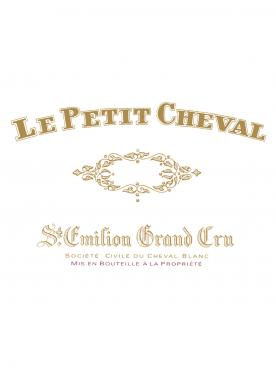 Le Petit Cheval 2016 Original wooden case of 6 bottles (6x75cl)