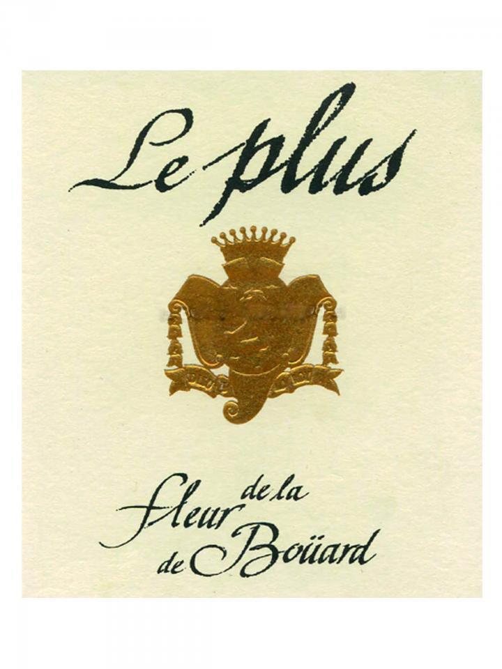 Le Plus de la Fleur de Boüard 2014 Original wooden case of 6 bottles (6x75cl)