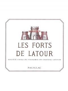 Les Forts de Latour 2014 Original wooden case of 6 bottles (6x75cl)