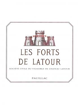 Les Forts de Latour 2013 Original wooden case of 12 half bottles (12x37.5cl)