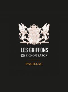 Les Griffons de Pichon Baron 2016 Original wooden case of 6 bottles (6x75cl)