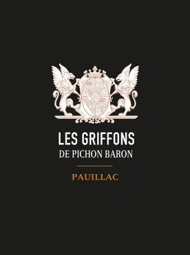 Les Griffons de Pichon Baron 2018 Original wooden case of 6 bottles (6x75cl)