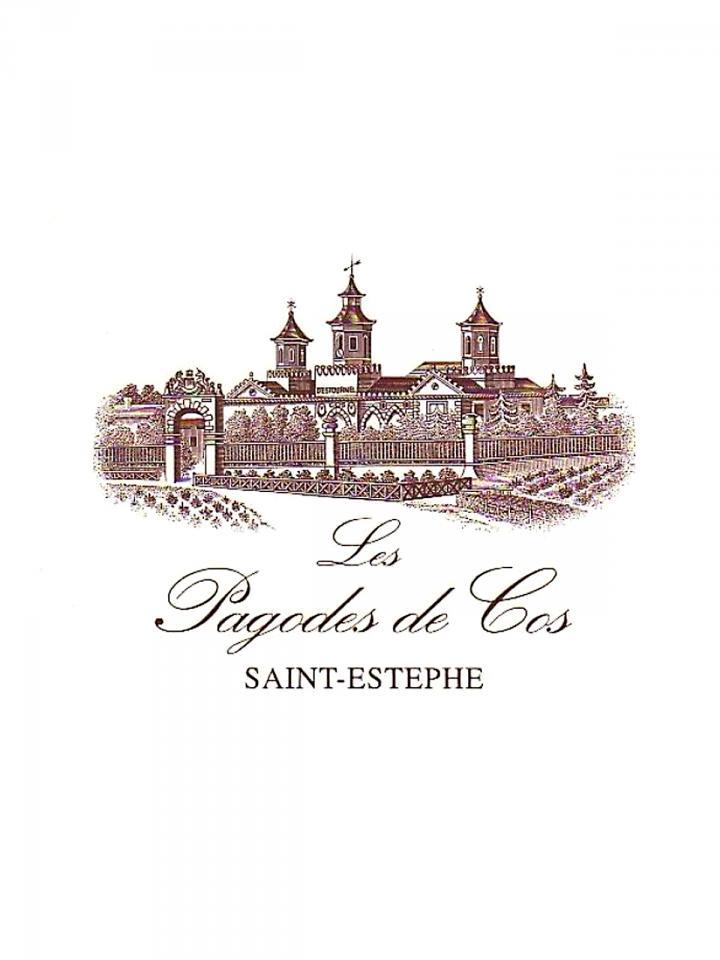 Les Pagodes de Cos 2010 Original wooden case of 12 bottles (12x75cl)