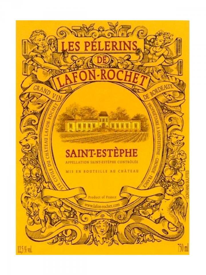 Les Pélerins de Lafon-Rochet 2018 6 bottles (6x75cl)