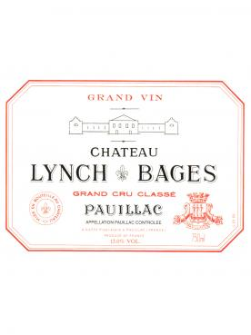 Château Lynch Bages 1993 Original wooden case of 12 bottles (12x75cl)