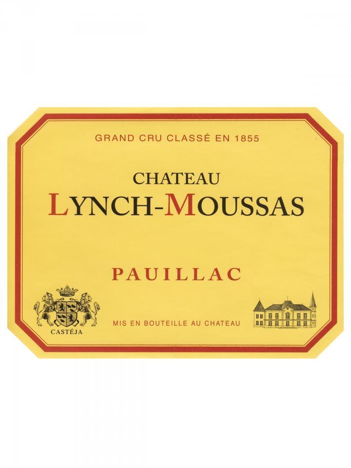 Château Lynch-Moussas 2016 Original wooden case of 6 bottles (6x75cl)
