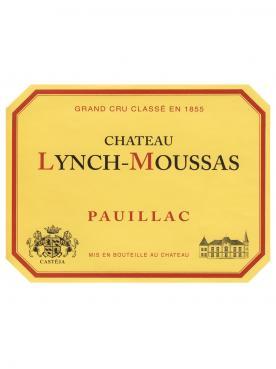 Château Lynch-Moussas 2015 Original wooden case of 12 bottles (12x75cl)