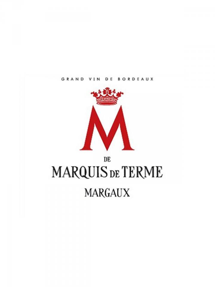 M de Marquis de Terme 2016 6 bottles (6x75cl)