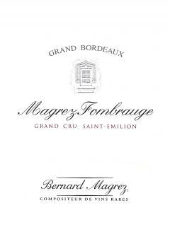Magrez Fombrauge 2015 Original wooden case of 6 bottles (6x75cl)