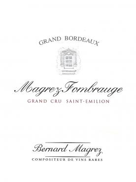 Magrez Fombrauge 2006 Original wooden case of 6 bottles (6x75cl)