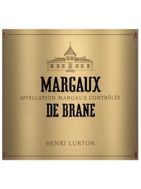 Margaux de Brane 2018 6 bottles (6x75cl)