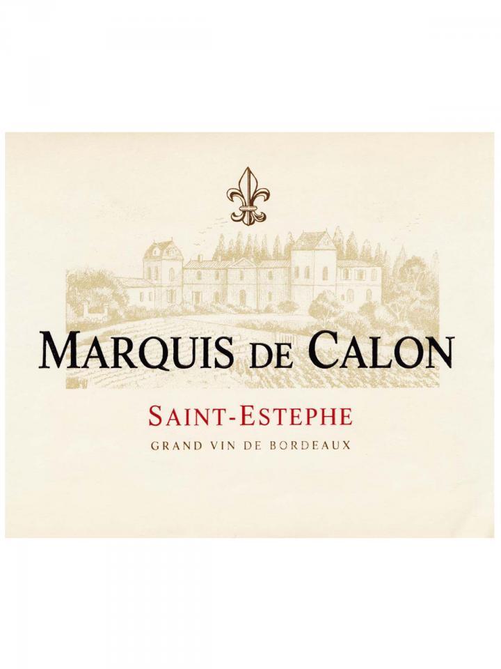 Marquis de Calon 2011 Original wooden case of 6 bottles (6x75cl)
