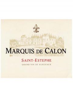 Marquis de Calon 2014 Original wooden case of 12 bottles (12x75cl)