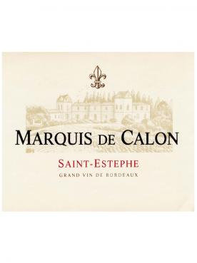 Marquis de Calon 2015 Original wooden case of 6 bottles (6x75cl)
