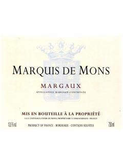Marquis de Mons 2014 6 bottles (6x75cl)