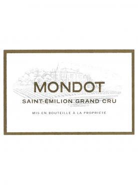 Mondot 2010 Original wooden case of 12 bottles (12x75cl)