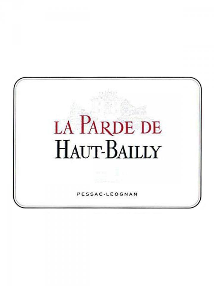 La Parde de Haut-Bailly 2016 Original wooden case of 12 bottles (12x75cl)