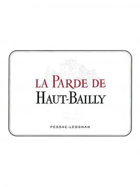 La Parde de Haut-Bailly 2013 Original wooden case of 12 bottles (12x75cl)