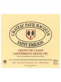 Château Pavie Macquin 2014 Original wooden case of 6 bottles (6x75cl)