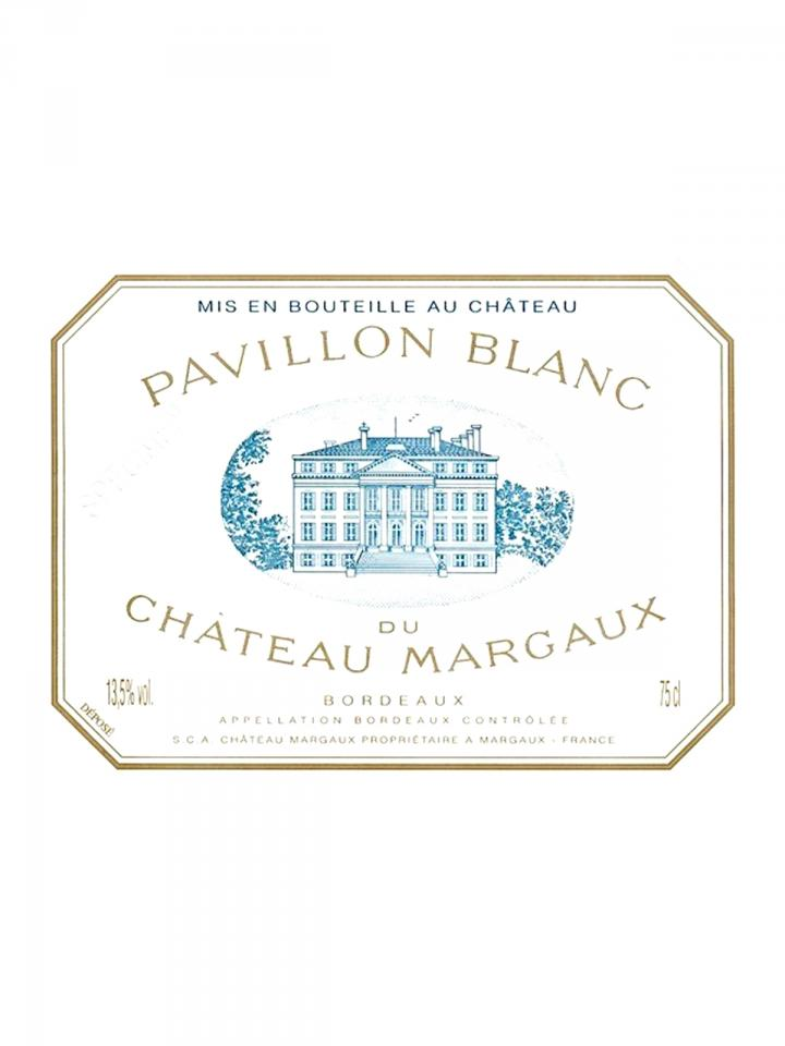 Pavillon Blanc du Château Margaux 2013 Original wooden case of 3 bottles (3x75cl)