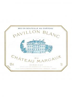 Pavillon Blanc du Château Margaux 2017 Original wooden case of 3 bottles (3x75cl)