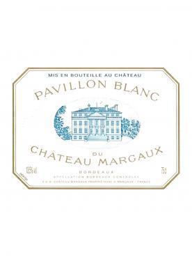 Pavillon Blanc du Château Margaux 1990 Bottle (75cl)