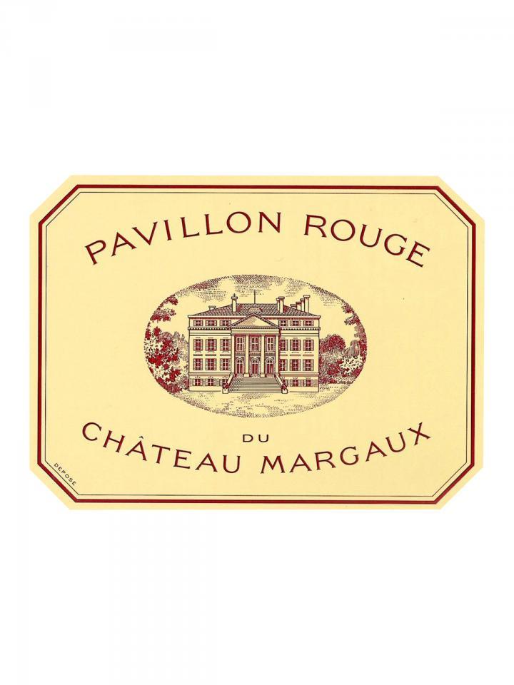 Pavillon Rouge du Château Margaux 2014 Original wooden case of 6 bottles (6x75cl)