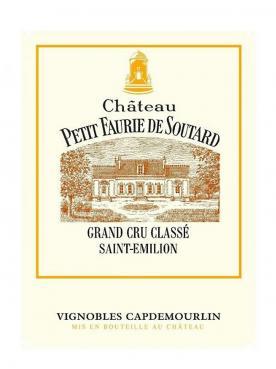 Château Petit Faurie de Soutard 2016 Original wooden case of 12 half bottles (12x37.5cl)