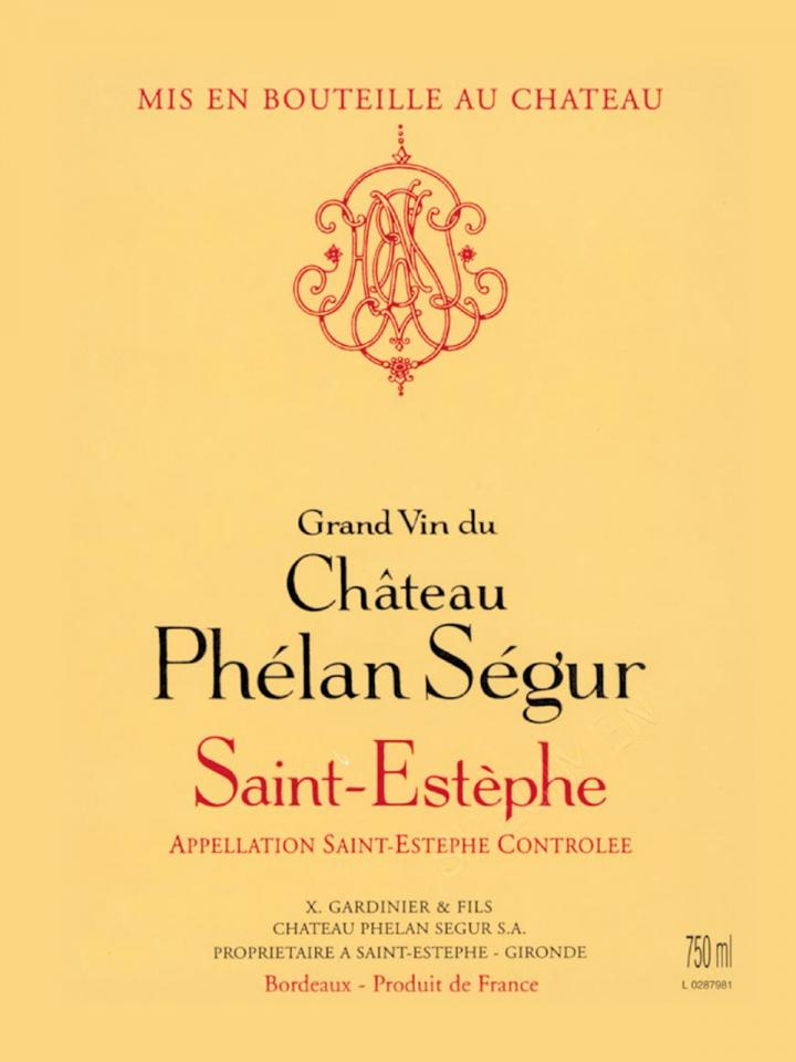 Château Phélan Ségur 2015 Original wooden case of 6 magnums (6x150cl)