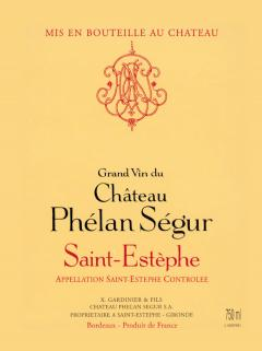 Château Phélan Ségur 2011 Original wooden case of 12 bottles (12x75cl)