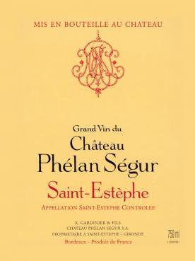 Château Phélan Ségur 2015 Original wooden case of 12 bottles (12x75cl)