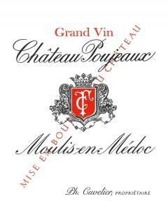 Château Poujeaux 2013 Original wooden case of 12 bottles (12x75cl)