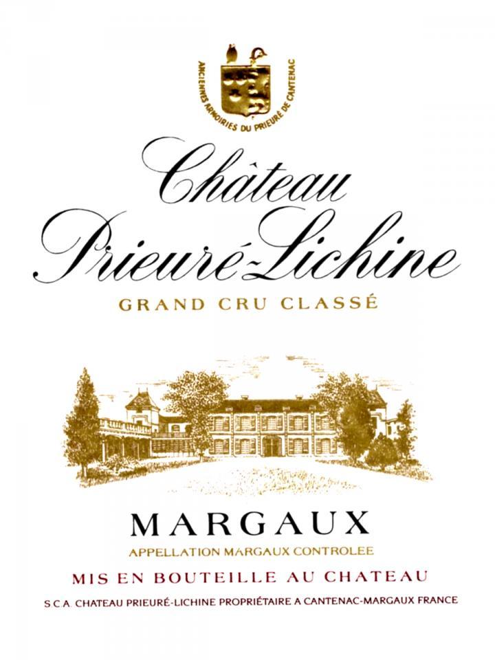 Château Prieuré-Lichine 2012 Original wooden case of 12 bottles (12x75cl)
