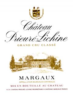 Château Prieuré-Lichine 2012 Original wooden case of 12 bottles (12x75cl)