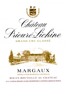 Château Prieuré-Lichine 2015 Original wooden case of 6 bottles (6x75cl)