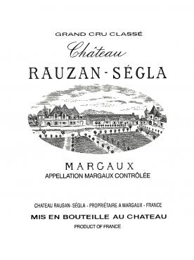 Château Rauzan-Ségla 2007 Original wooden case of 12 bottles (12x75cl)
