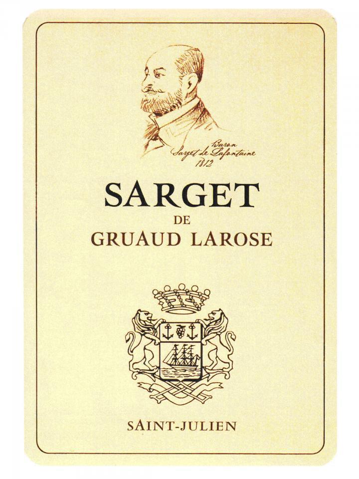 Sarget de Gruaud Larose 2017 6 bottles (6x75cl)