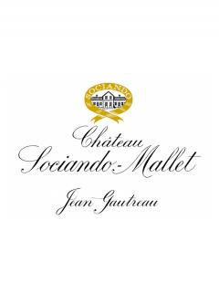 Château Sociando-Mallet 2010 Original wooden case of 12 bottles (12x75cl)
