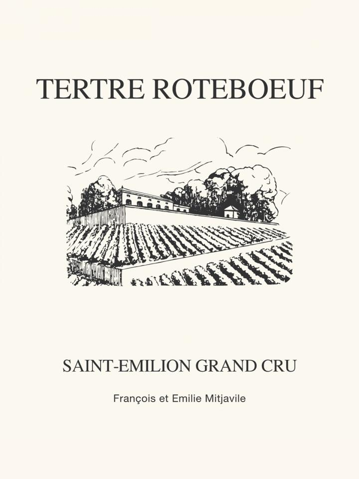 Château Tertre Roteboeuf 2006 Original wooden case of 6 bottles (6x75cl)