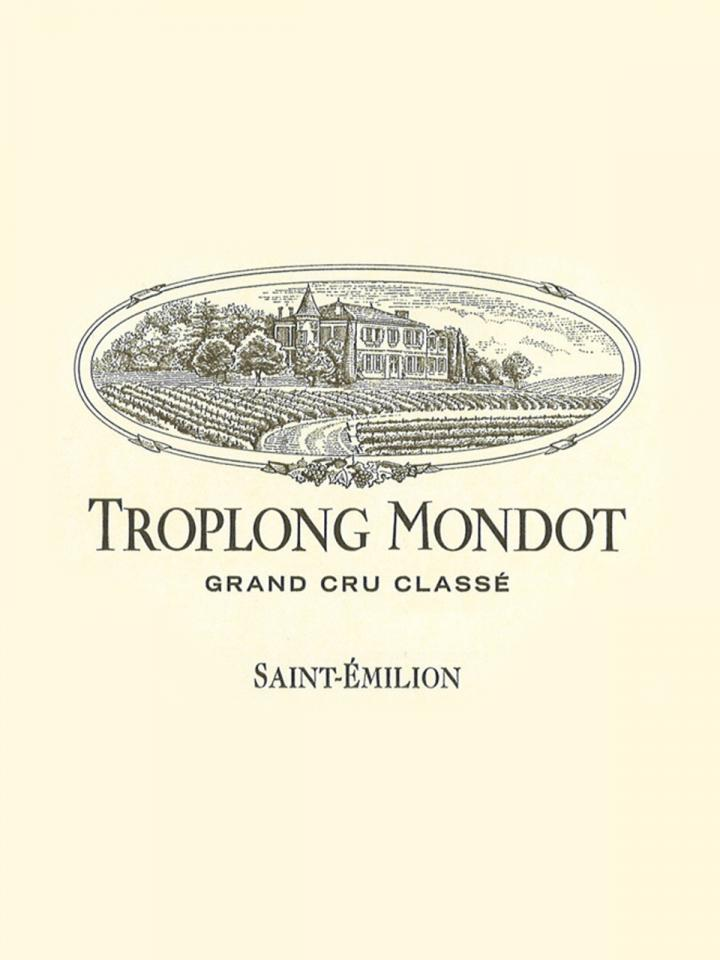 Château Troplong Mondot 2012 Original wooden case of 6 bottles (6x75cl)