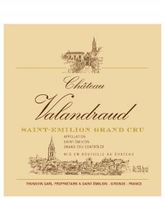 Château Valandraud 2018 Original wooden case of one magnum (1x150cl)