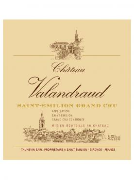 Château Valandraud 2009 Original wooden case of 12 bottles (12x75cl)